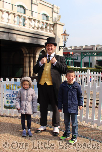 fat controller drayton manor ethan little e
