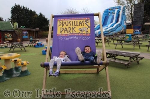 little e ethan big deck chair drusillas park