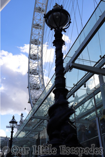 london eye entrance