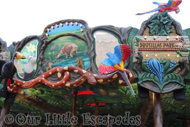 rainforest carousel design drusillas park