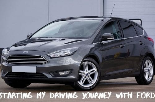 starting my driving journey with ford