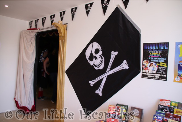 stonham barns amp theatre box office pirate decorations
