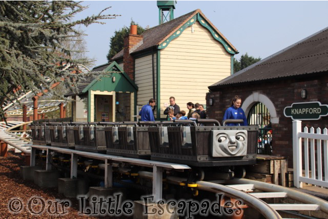 troublesome trucks runaway coaster carriage thomas land drayton manor
