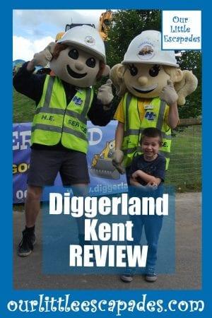 Diggerland Kent REVIEW