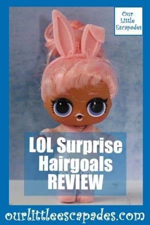 LOL Surprise Hairgoals REVIEW