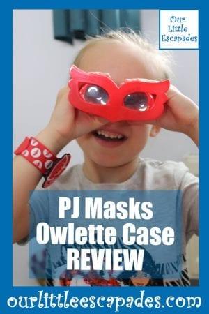 PJ Masks Owlette Case Review