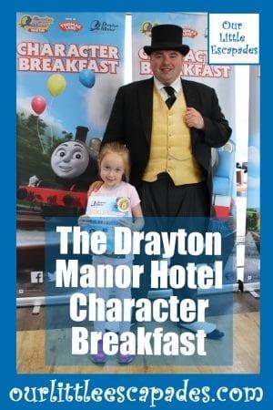 The Drayton Manor Hotel Character Breakfast