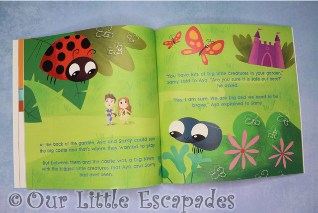 aya and papaya meet the big little creatures garden pages