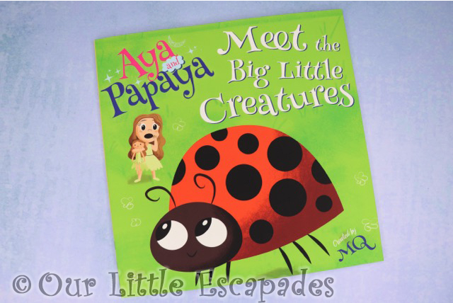aya and papaya meet the big little creatures