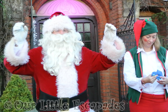 fully dressed santa breakfast with santa colchester zoo