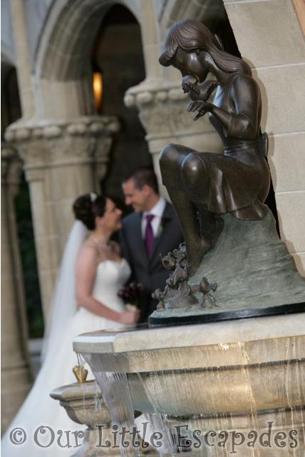 jane darren bride groom cinderella fountain magic kingdom