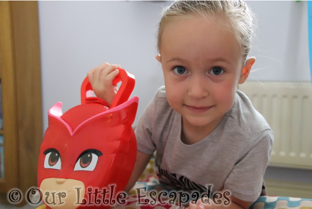little e pj masks owlette case