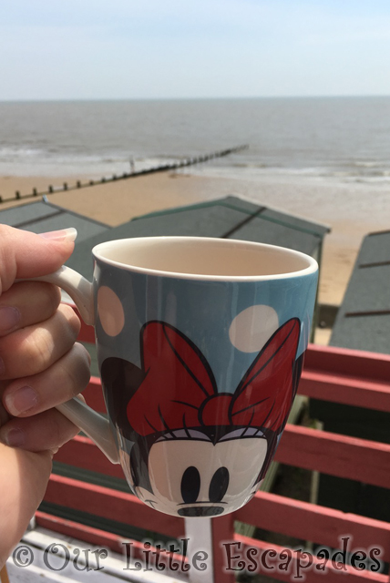 minnie mouse cup tea walton beach sea view