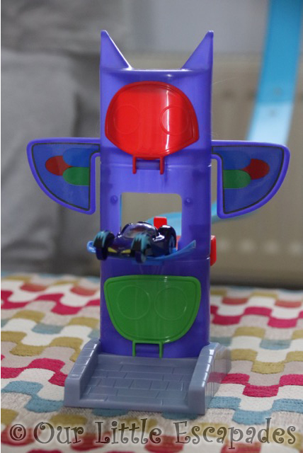 pj masks headquarters cat car
