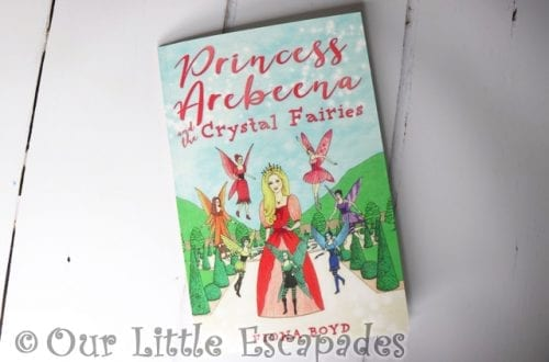 princess arebeena crystal fairies