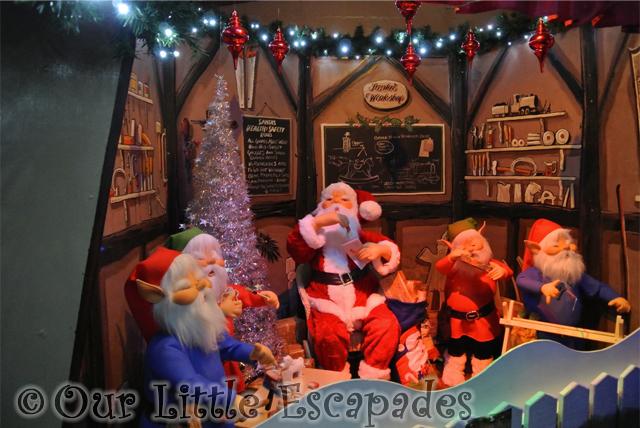 santa elves colchester zoo christmas grotto