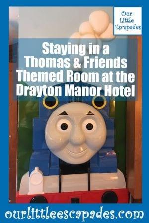 staying thomas friends themed room drayton manor hotel