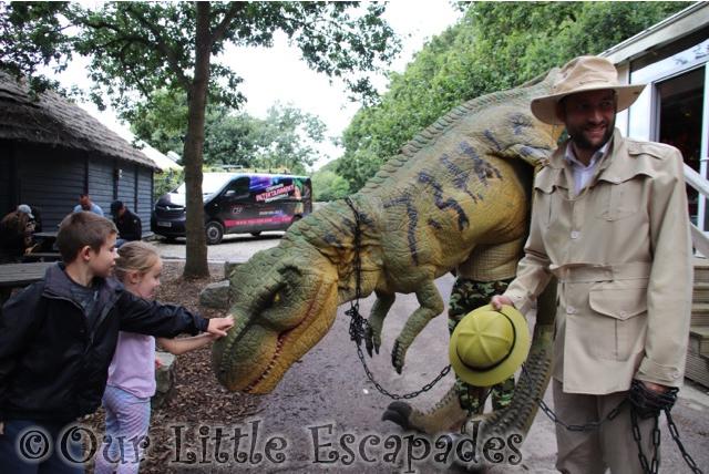 ethan little e meeting t rex