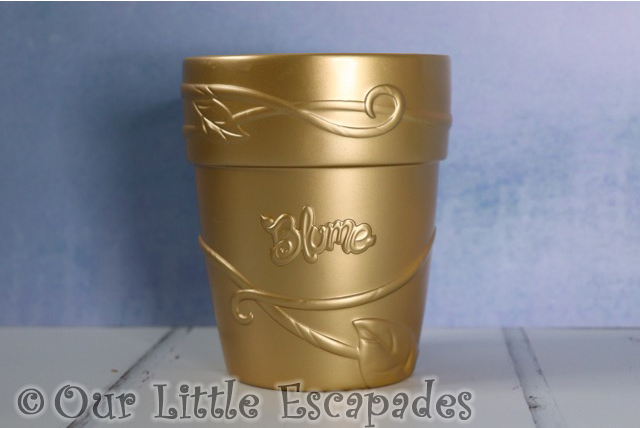 golden flower pot