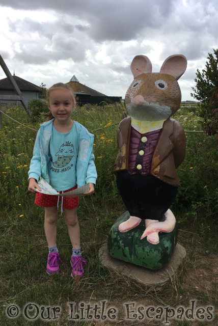 lord woodmouse brambly hedge trail abberton reservoir