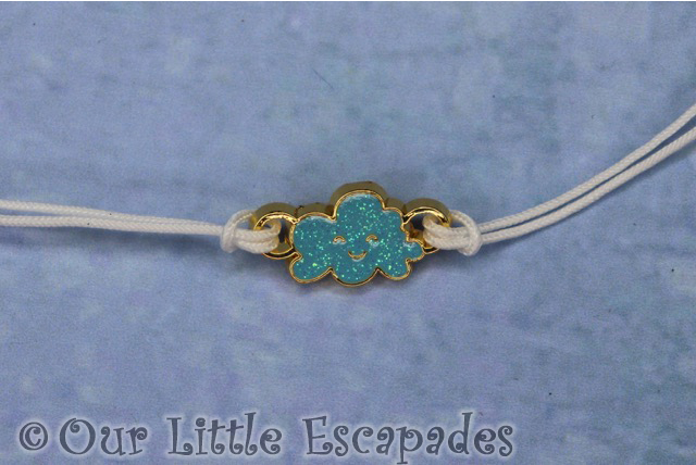 lucky blue cloud charm