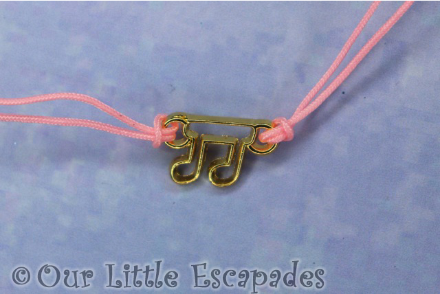 lucky musical note charm