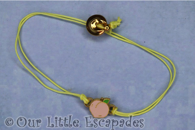 yellow collectible bracelet peach