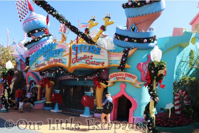 mulberry street store seuss landing universal orlando resort