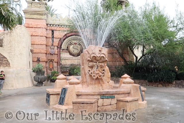 mystic fountain why our toddler loved universal orlando resort