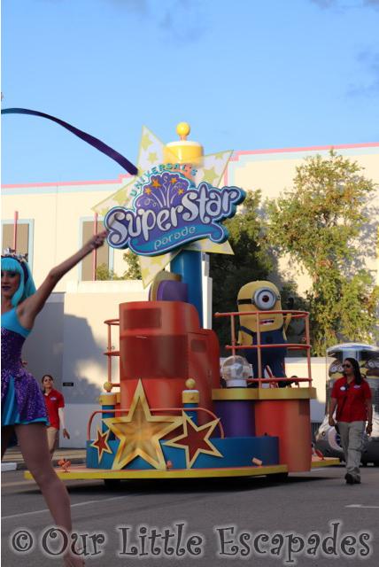 universal superstar parade universal orlando resort