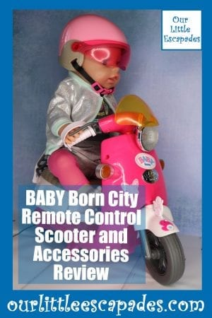 BABY Born City Remote Control Scooter and Accessories Review