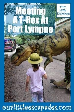 Meeting A T-Rex At Port Lympne