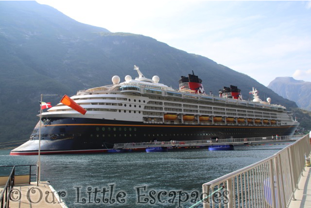 disney magic geiranger norway