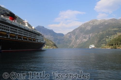 disney magic geiranger port norway