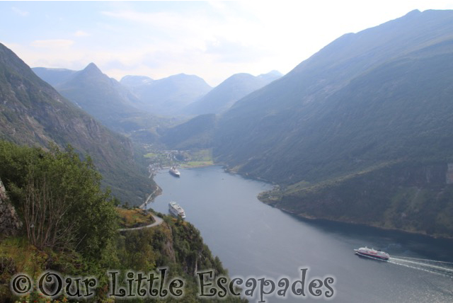 eagle bend view geiranger norway