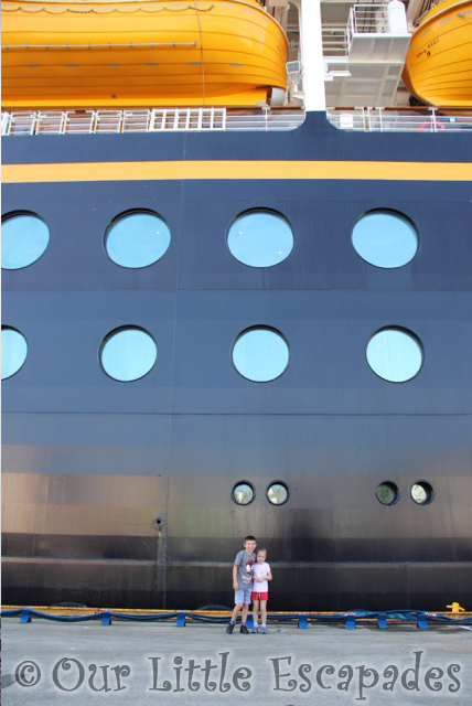 ethan little e disney magic cruise ship