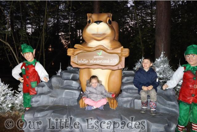 ethan little e winter wonderland photo opportunity