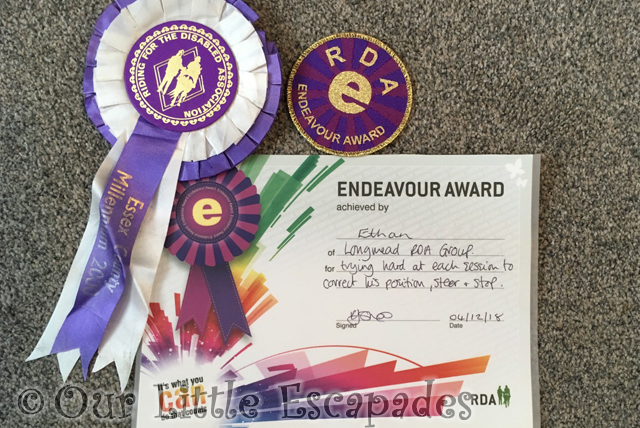 ethan rda endeavour award