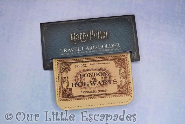 hogwarts travel card holder harry potter stocking filler ideas