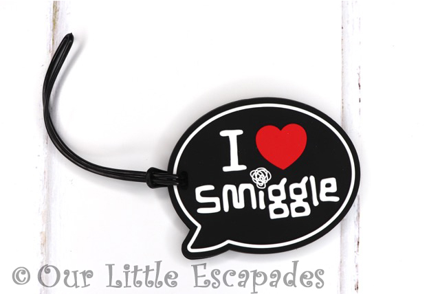 i love smiggle silicon bag tag front smiggle advent calendar 2019 contents