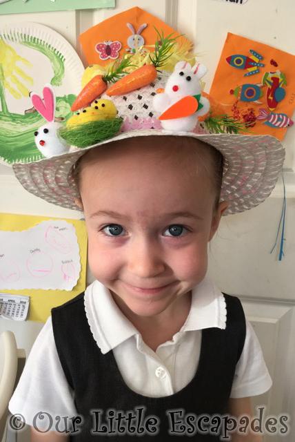 little e easter bonnet