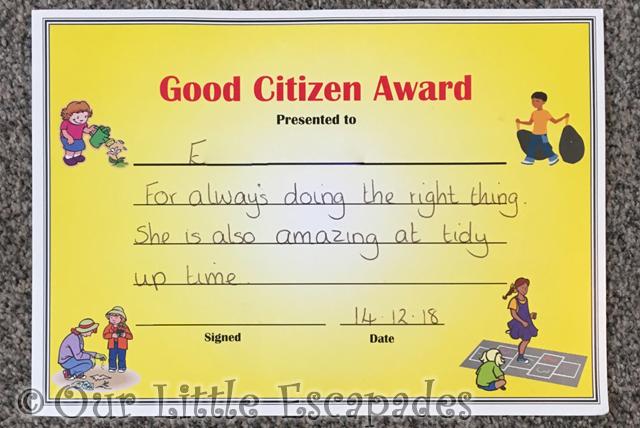 little e good citizen award