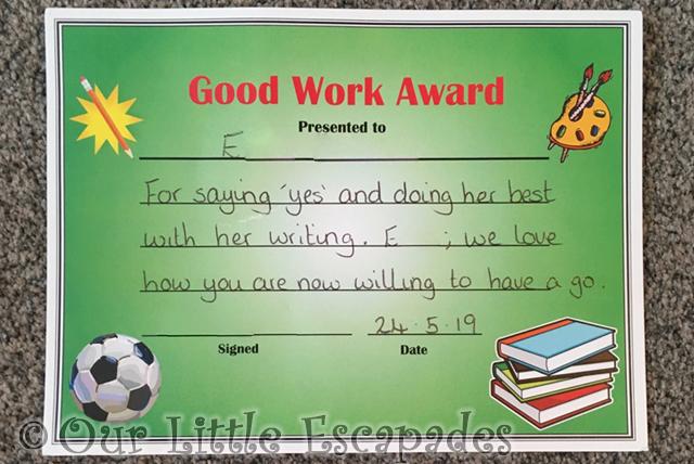 little e good work award