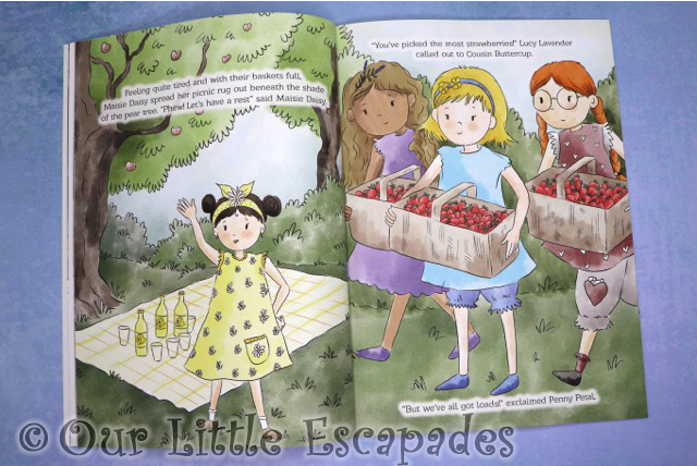 maisie daisys friends maisie daisy strawberry fayre inner pages