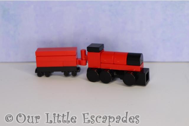 micro hogwarts express train