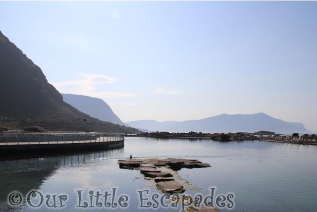 mountain view atlanterhavsparken alesund norwegian aquarium