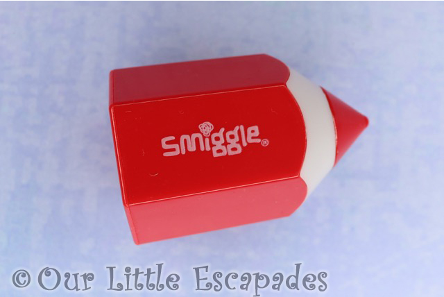 pencil shaped sharpener smiggle advent calendar 2019 contents