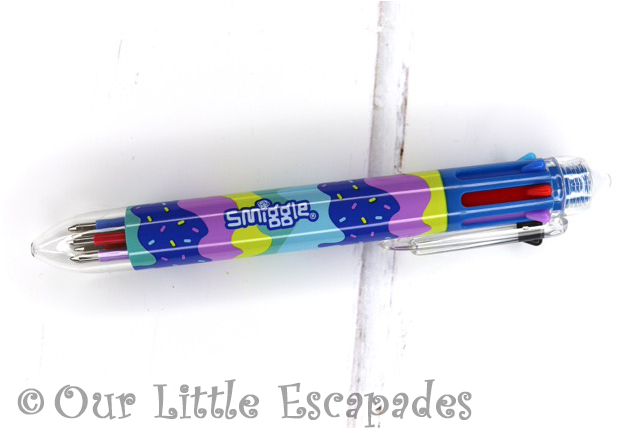 rainbow pen smiggle advent calendar 2019 contents