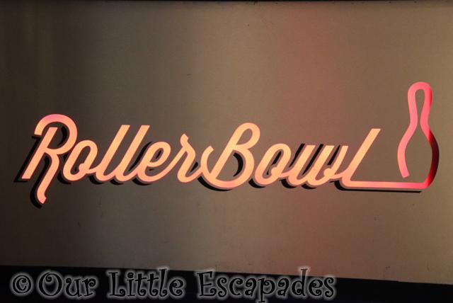 rollerbowl sign rollerbowl romford