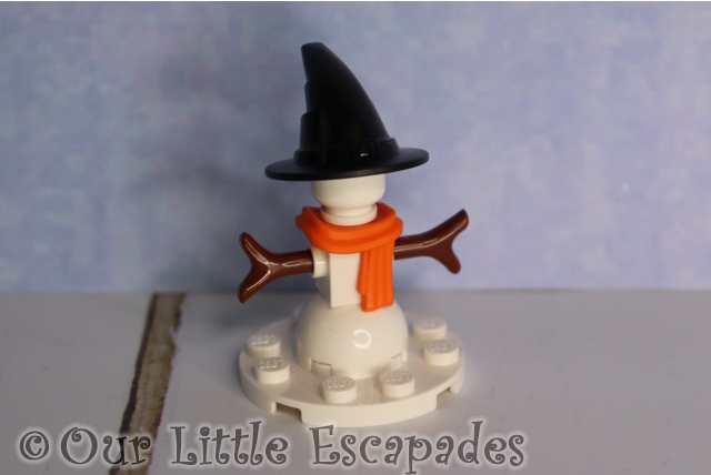 snowman lego harry potter advent calendar 2019 contents